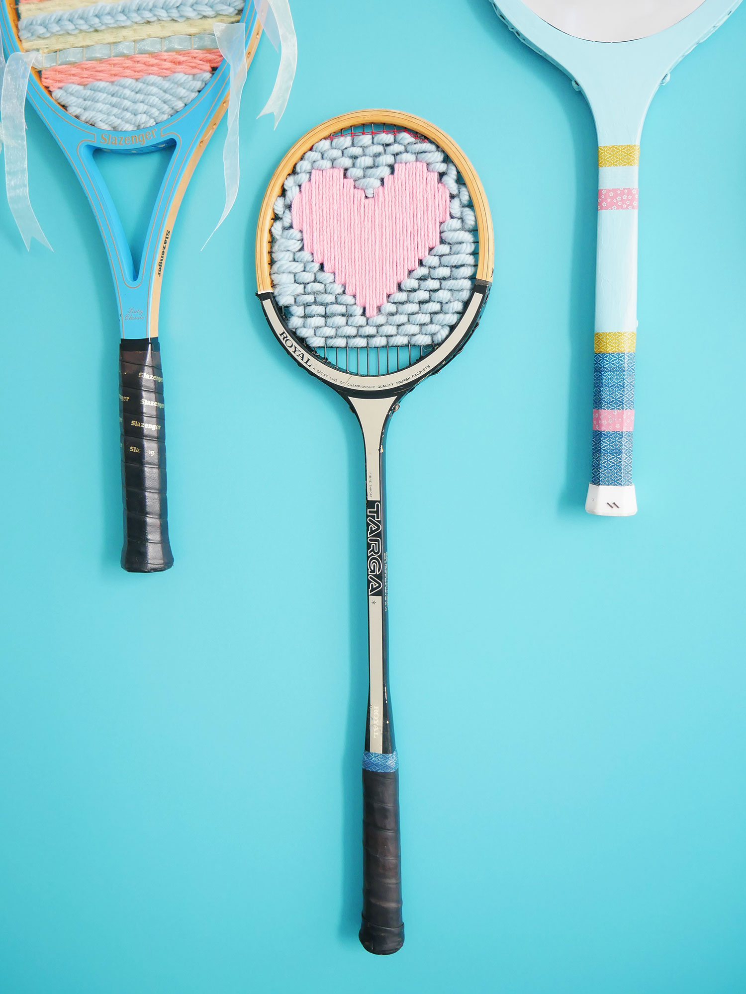 DIY | Une raquette vintage brodée avec amour
