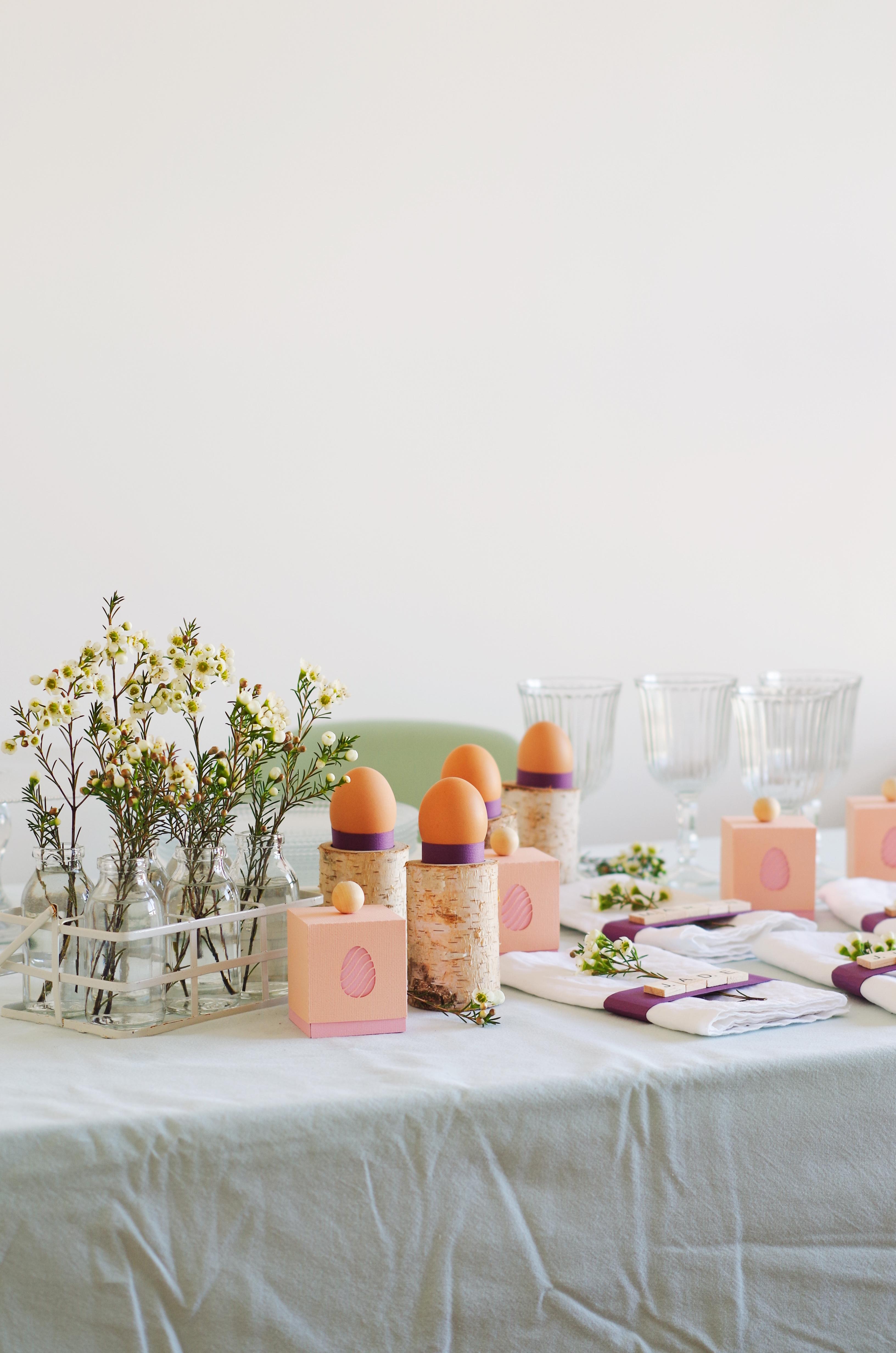 Déco & DIY – Ma table de pâques