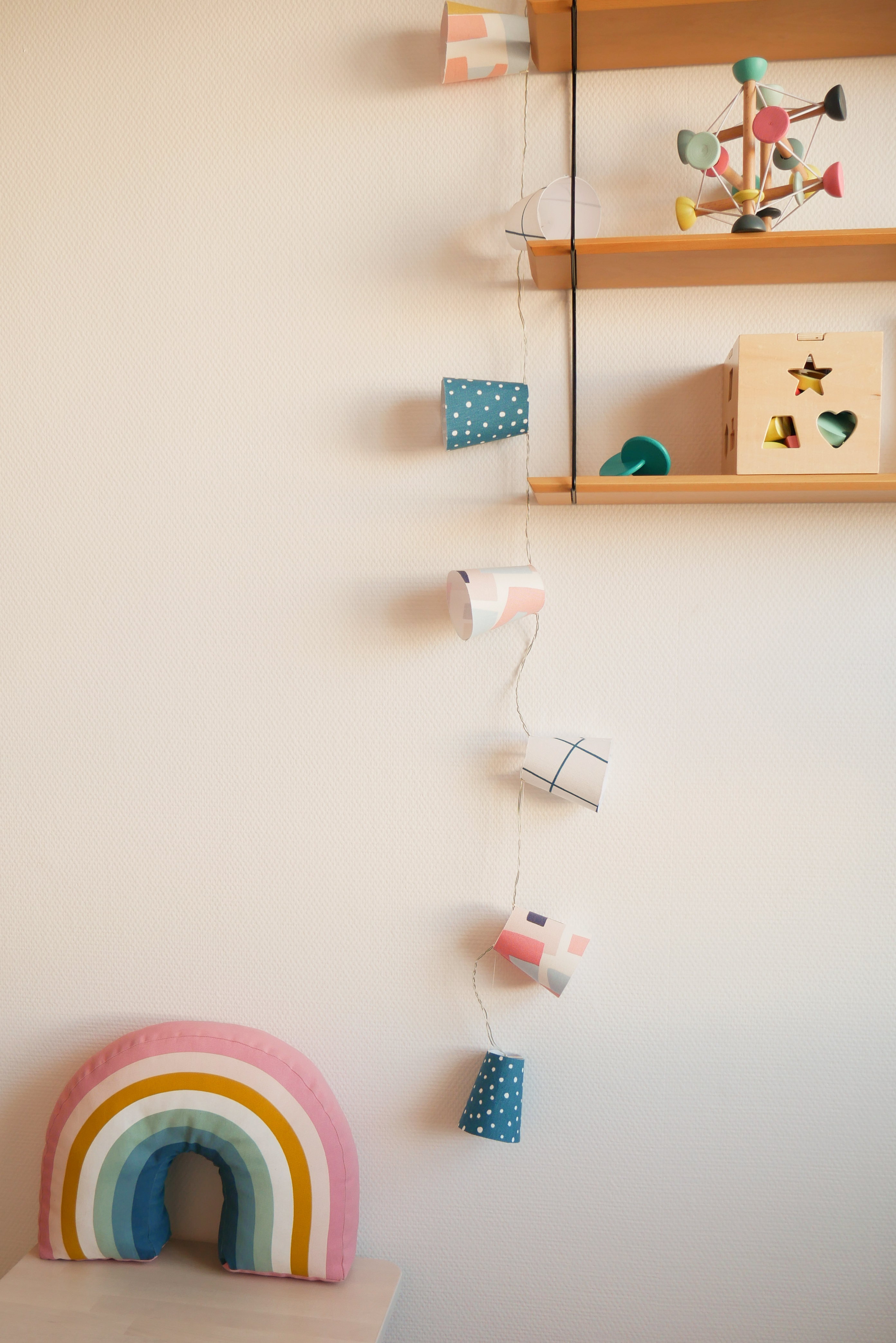 DIY – Une guirlande de lampion pour sa chambre