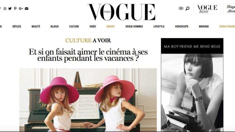 L'Atelier Juliette Moltes est dans Vogue !