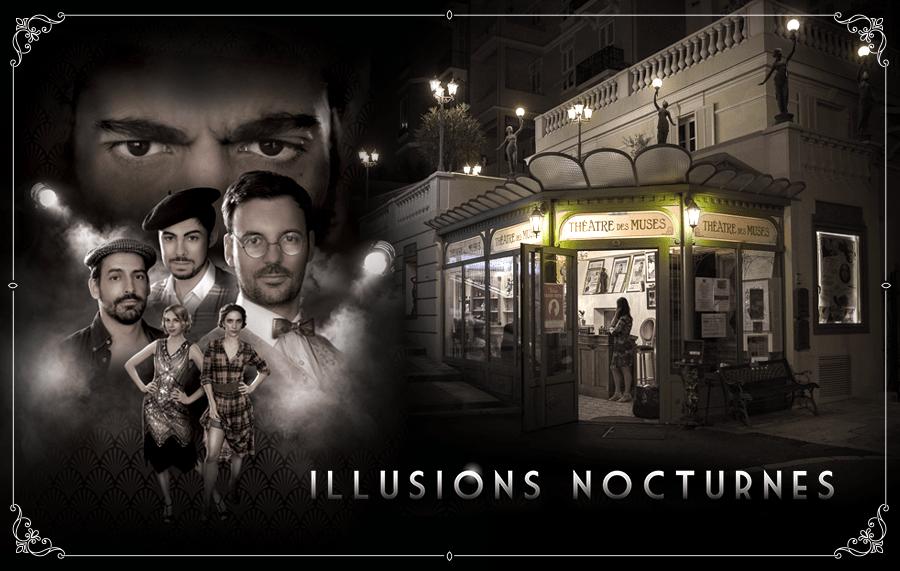 Illusions nocturnes en tournée, mise en scène de Juliette Moltes
