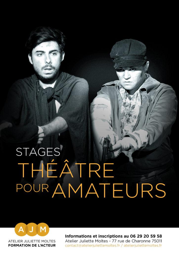 stage theatre tous niveaux atelier juliette moltes