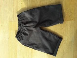 Vêtements de bébé, Pantalon 12-18 mois velours fin gris foncé (n°19-39)