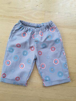 Vêtements de bébé, Pantalon 6 mois en coton (N°19-71)
