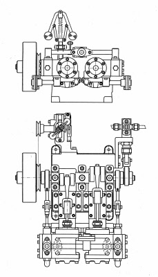 Drawings Of Single Cylinder Engines Diesel Engine Drawings