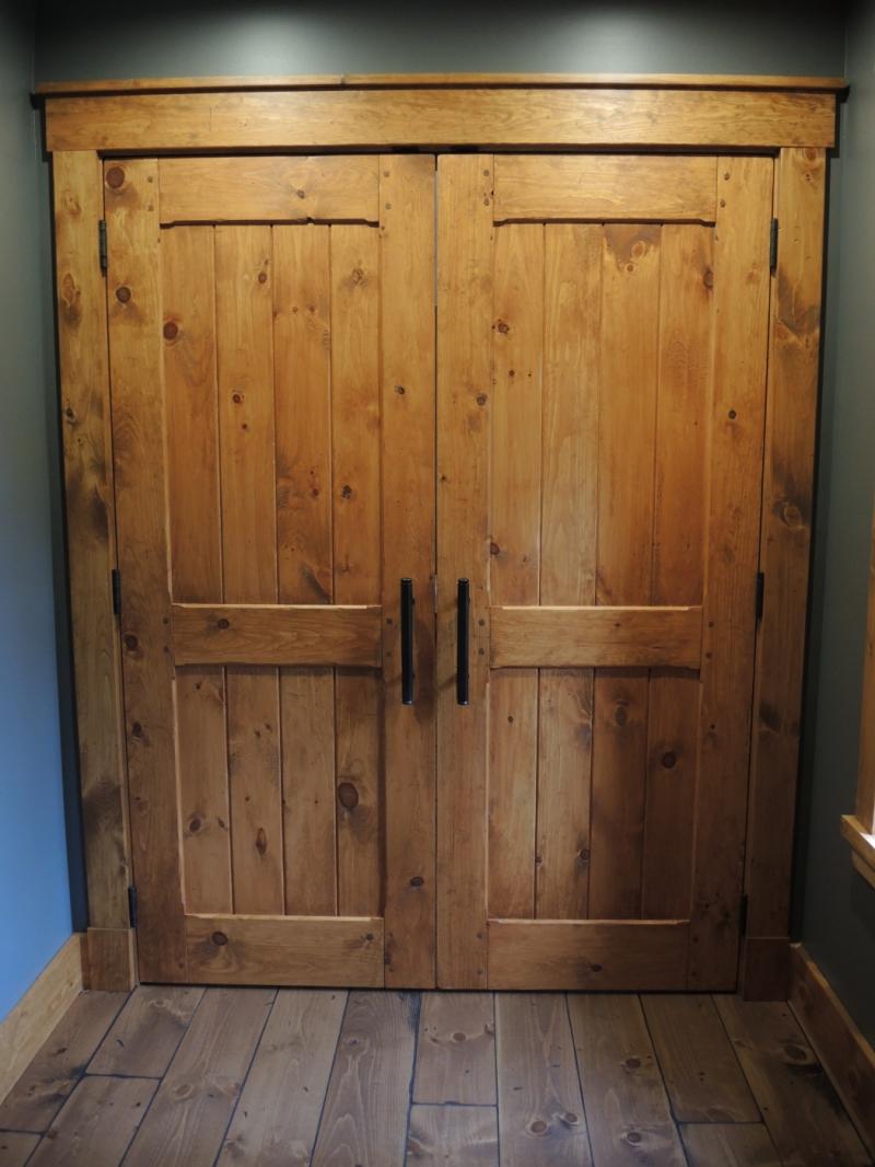 Porte Intrieur En Pin Atelier Meuble Rustique