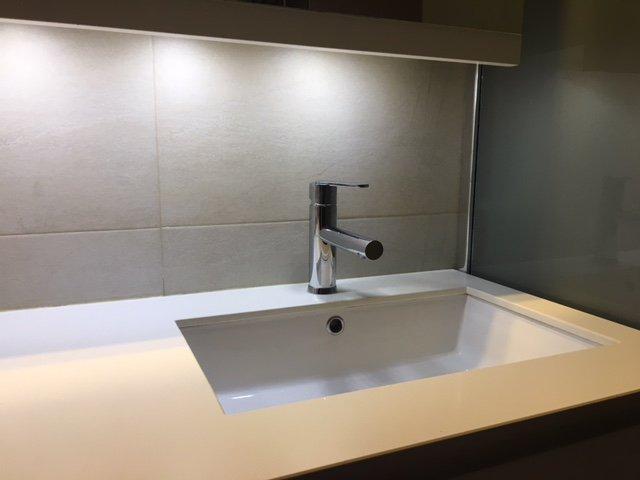 El diseño de un baño pequeño