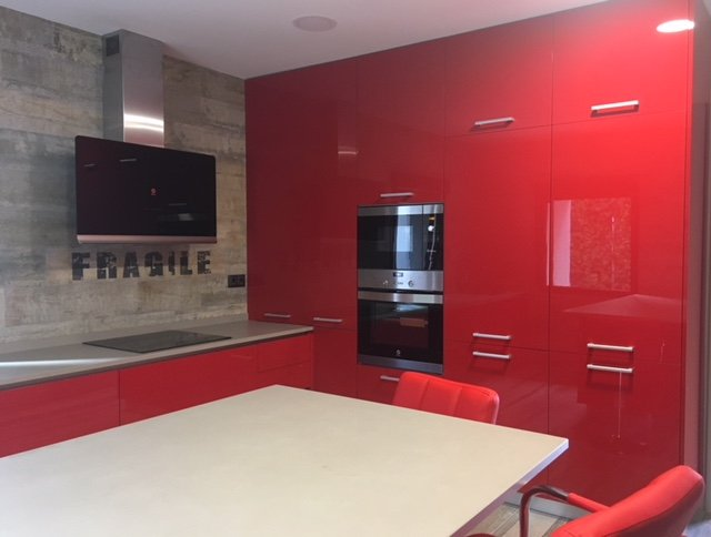 cocina roja 96469