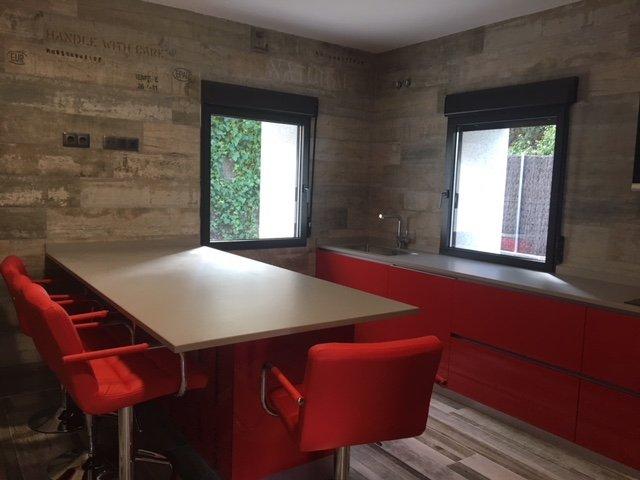 Cocinas Rojo Ferrari