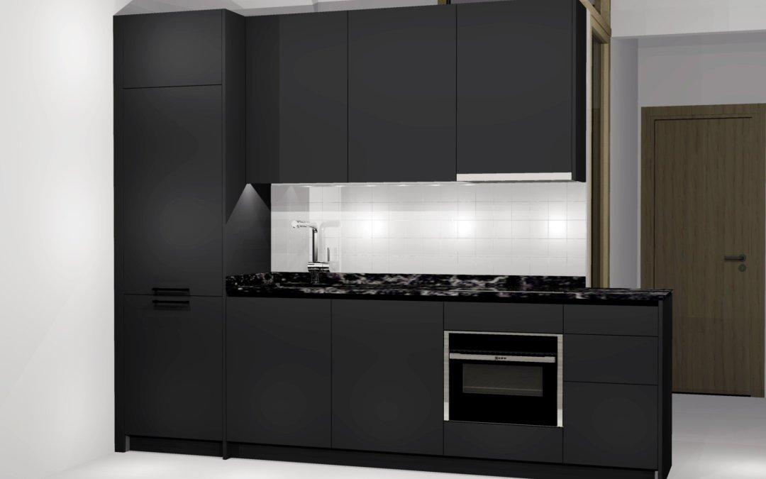 Atrévete con una cocina negra