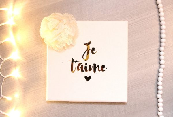 Cadre Je t'aime