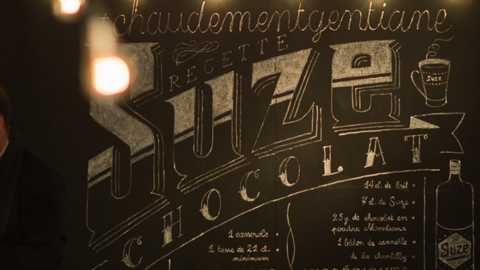 Scnographie Suze Chocolat Cocktail Chaud Atelier Nils Rousset