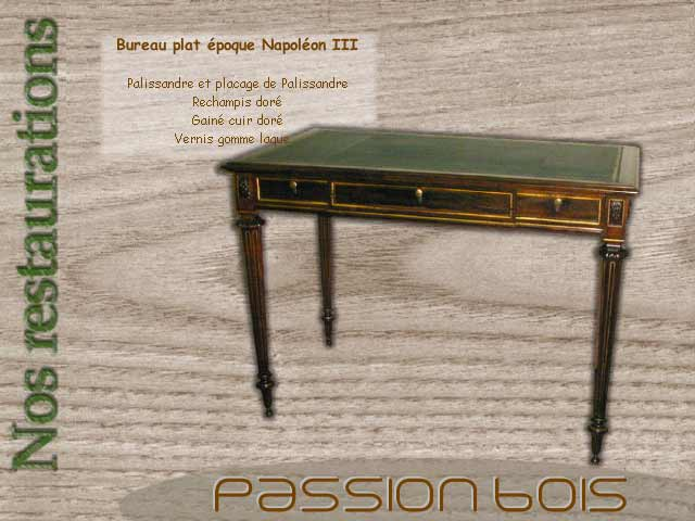 bureau plat epoque napoleon iii
