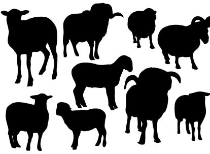 free-sheep-silhouette-vector