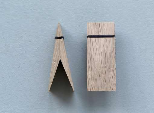 Moebe Pinch Holzklammer, Kartenhalter