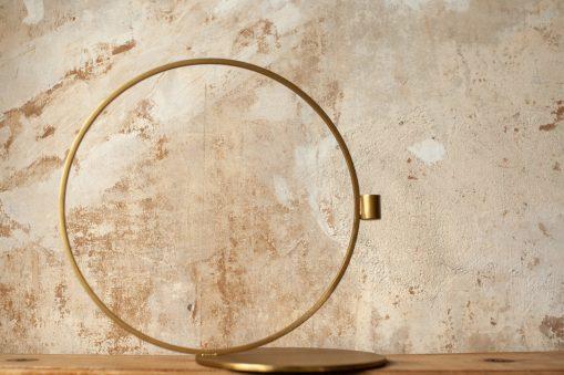 Kerzenständer Cirque von House Doctor, Messing-finish, atelier.91