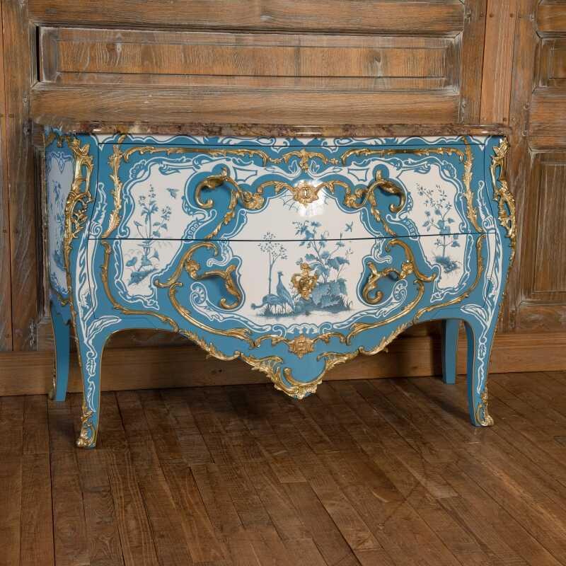 Commode Criaerd Style Louis XV Louis XV Ateliers Allot