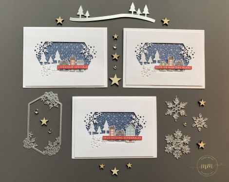 Cartes de Noël Plein de flocons 2020 2
