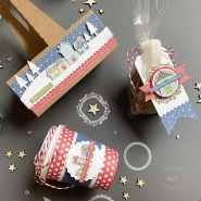 Porte café et mini gobelet à café C'est Noel au Village