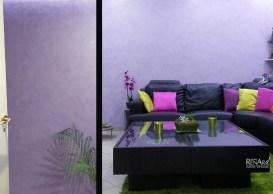 Tadelakt - Murs de salon - Ateliers Renard