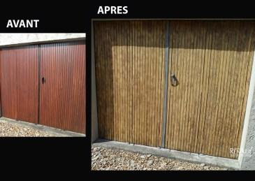 Porte de garage - Ateliers Renard