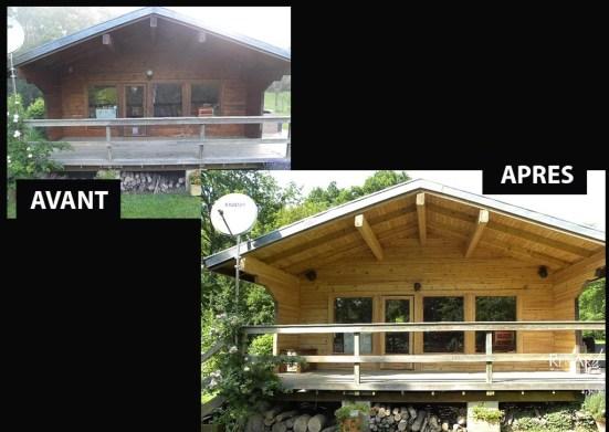 Châlet en bois - Ateliers Renard