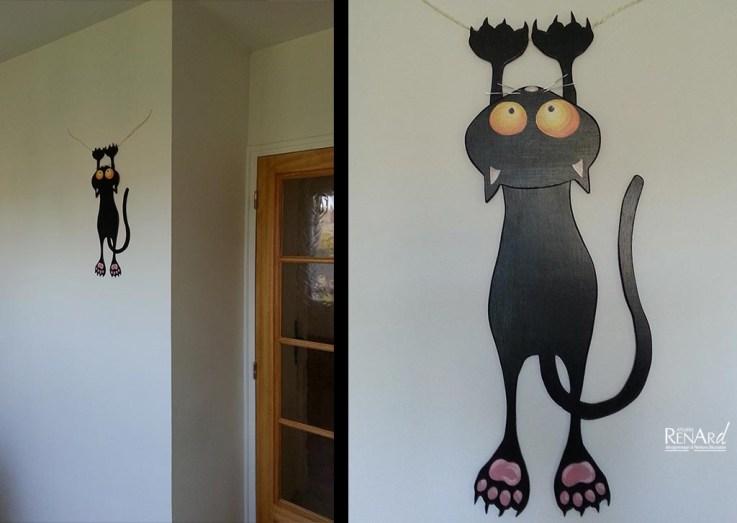 Le chat suspendu - Ateliers Renard