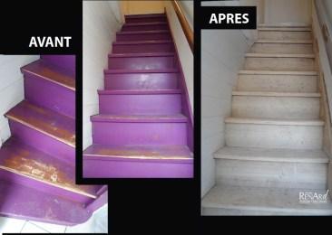 Escalier intérieur - Ateliers Renard