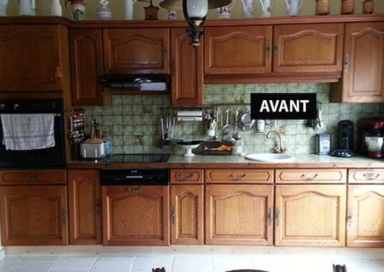 Cuisine avant relooking - Ateliers Renard