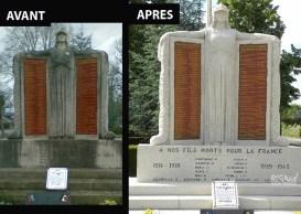 Monument funéraire - Ateliers Renard