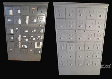 décapage casier métallique