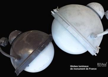 Globes lumineux - Ateliers Renard