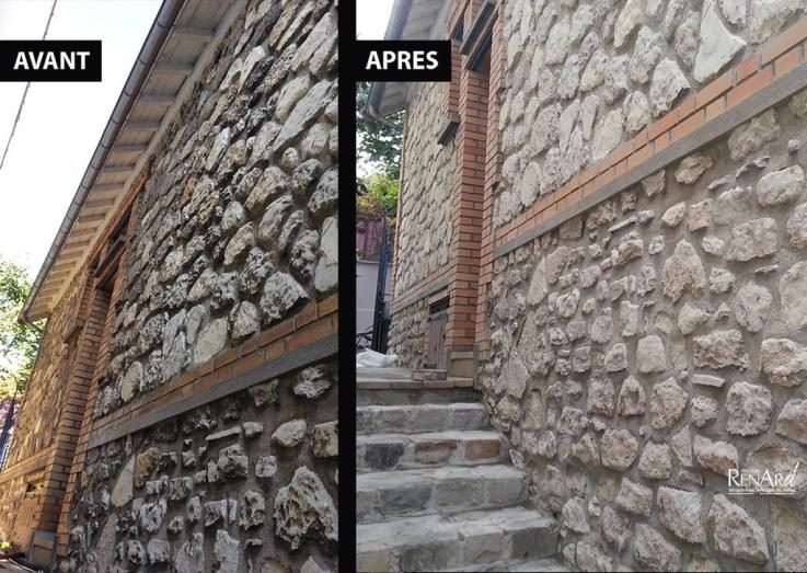 aérogommage façade