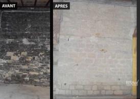 Murs en pierres de taille - Ateliers Renard