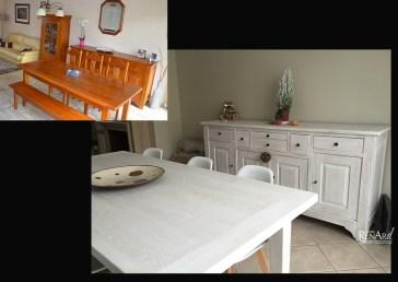 relooking meubles de lin et de blanc