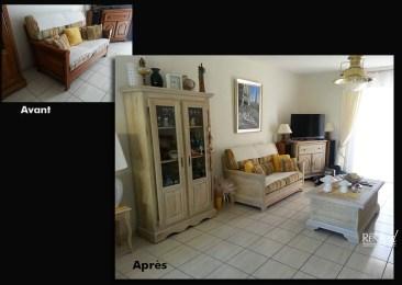 Salon cérusé - Ateliers Renard