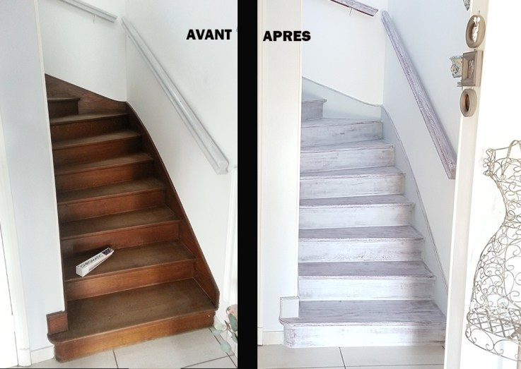relooking escaliers