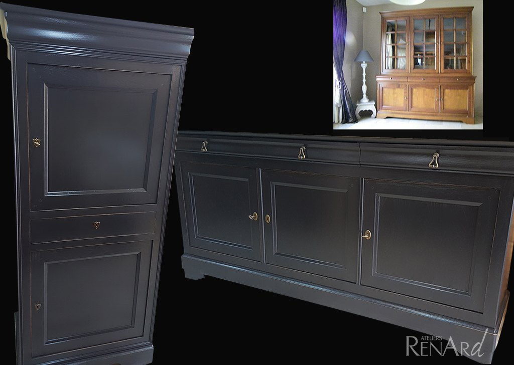 relooker buffet ancien good repeindre with relooker buffet ancien great relooker transformer. Black Bedroom Furniture Sets. Home Design Ideas