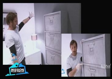aérogommage télévision
