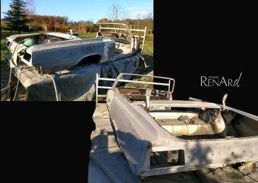 rénovation décapage voiture