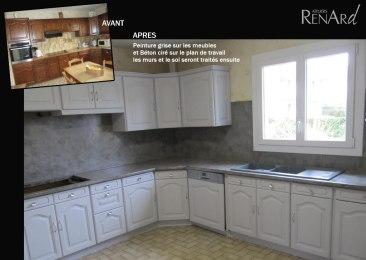 rénovation meubles de cuisine