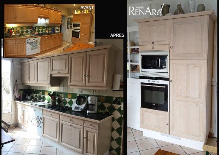 rénovation meubles cuisine Ateliers Renard