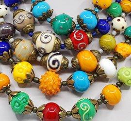 bijuterii sticla Murano