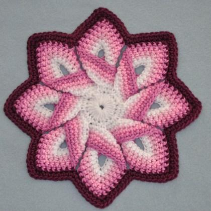 1502a pannenlap in oud roze tinten en wit