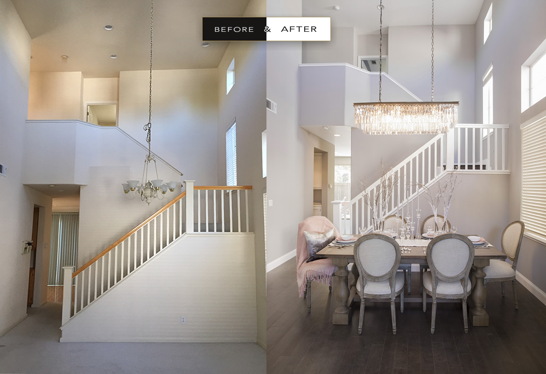 Before & After Atelier Noël Interior Design