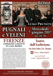 Locandina evento Roma 7.06.17