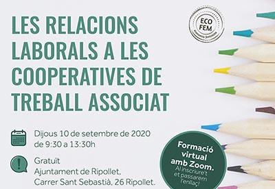 Canvi modalitat: Les Relacions Laborals a les Cooperatives de Treball Associat