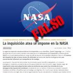 No. David Coppedge, el creacionista, no fue despedido de la NASA «por defender el DI en una conversación informal»