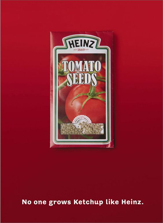 Creative Heinz Ketchup Ads  Check out these 20 great ones