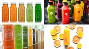 raw juice packaging design